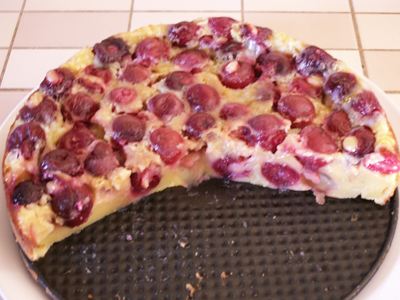 Cherry Clafoutis Method