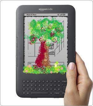 green kindle